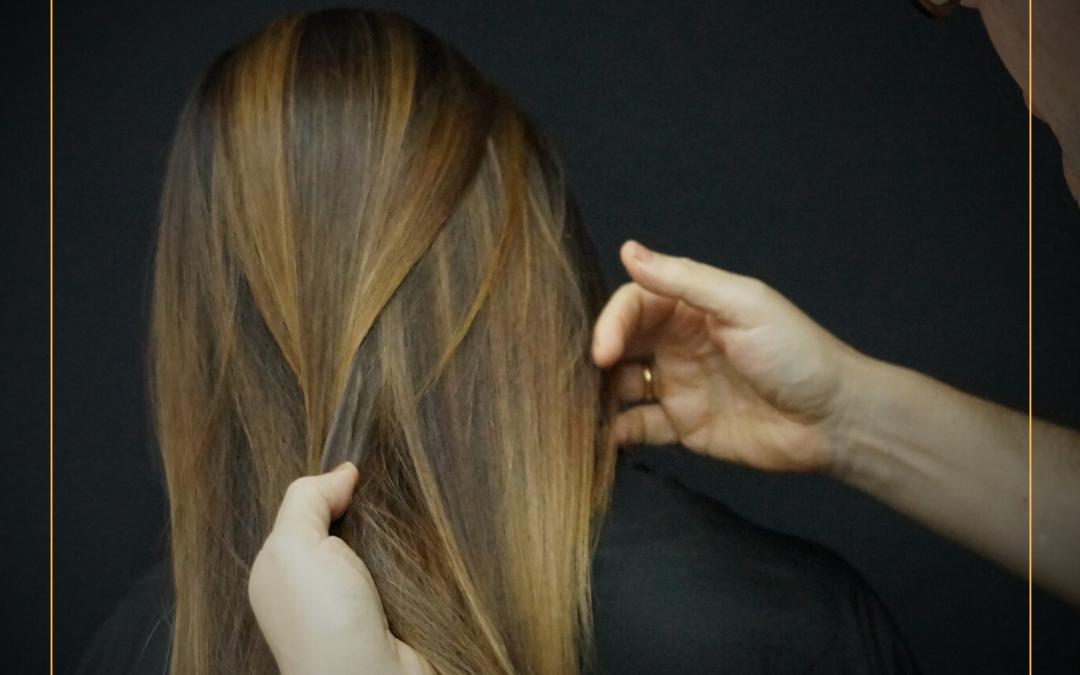 Fai il Balayage test al tuo parrucchiere !