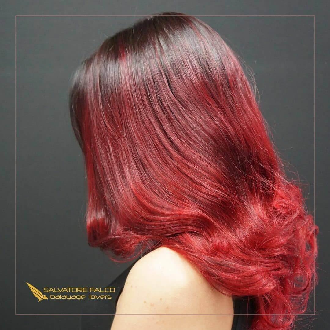 balayage-rosso